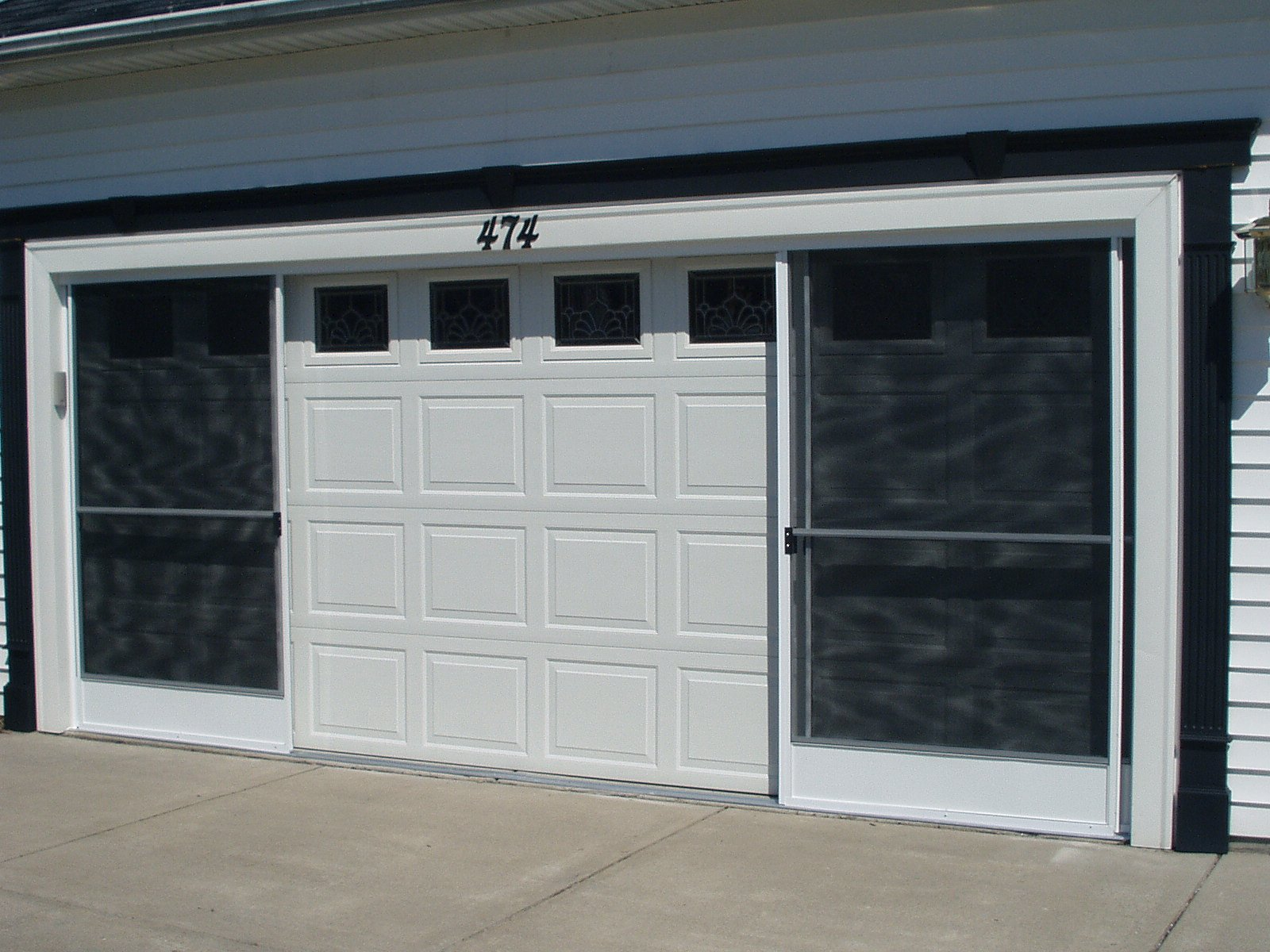 garage screen doorsGarage Screen Door  Patio Enclosure Installation Gallery