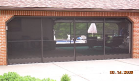 Garage Screen Sliding Door Installation